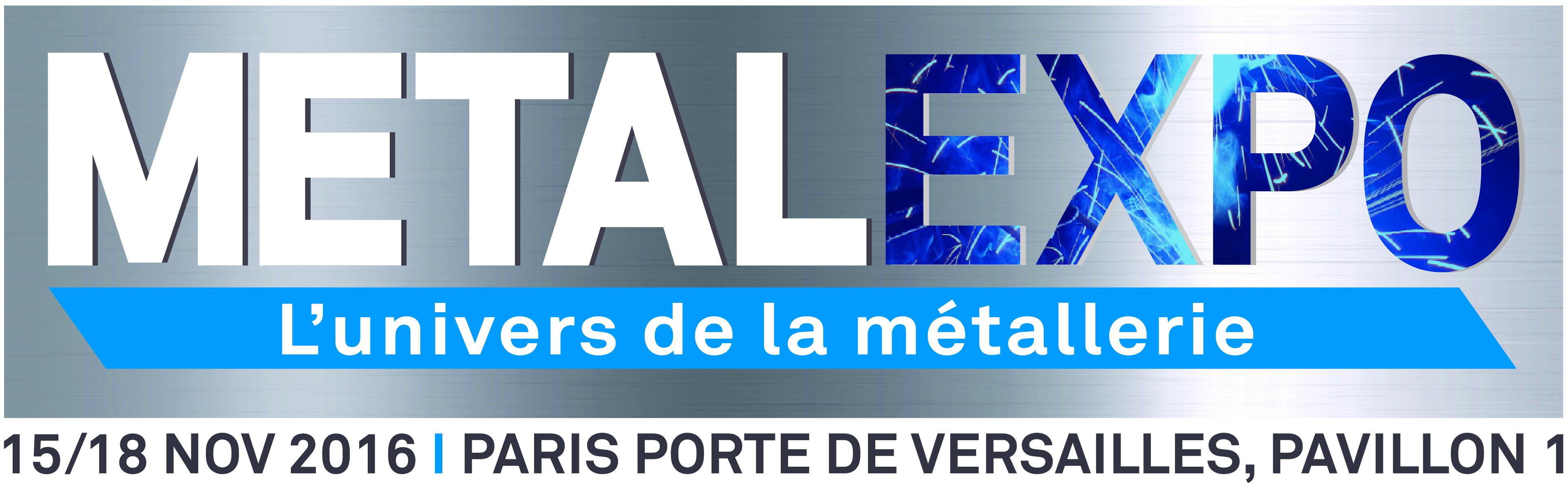 Metalexpo paris novembre 2016 vernet behringer for Expos paris novembre 2016