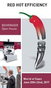 "BEHRINGER OPEN HOUSE ""WORLD OF SAWS"""