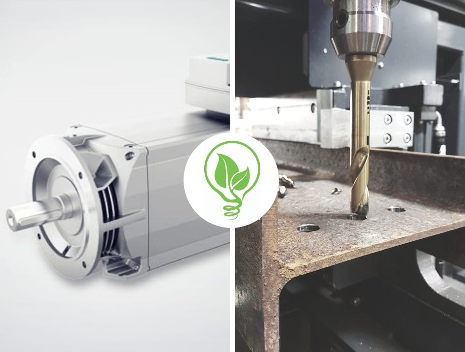 """ECO-EFFICIENT"" SPINDLE MOTOR"