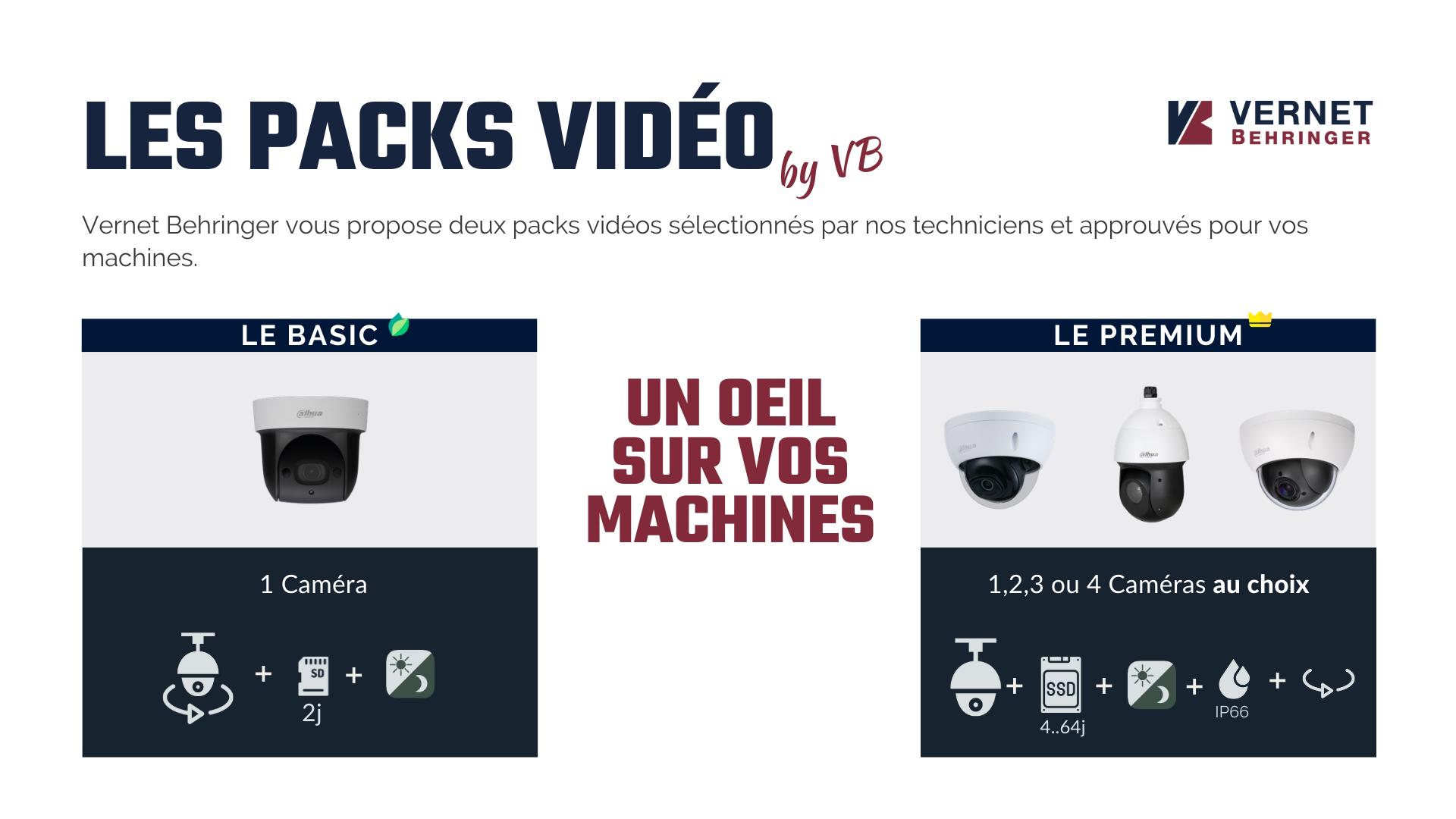 LES PACKS VIDEOS